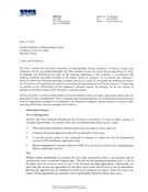 External Auditors Letter to the Audit Committee (Management Letter) - 2009
