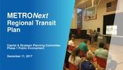 METRONext Board Presentation - December 2017