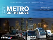 METRO On the Move Presentation - August 13 2019