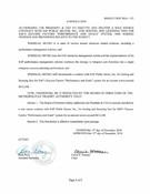 December 2016 Board Resolutions