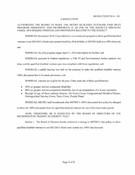 October 2016 Board Resolutions