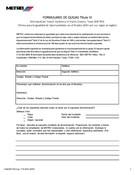 Title VI Complaint Form (Spanish)
